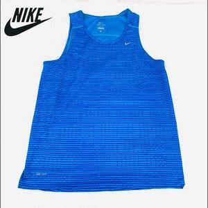 Nike Miler Dri-Fit Men's Running Tank Top Size M